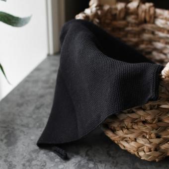 Küchenhandtuch Tellebo schwarz