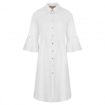 Hemdblusen Kleid weiß von La Camicia