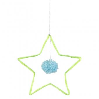Stern aus Wolle von Meri Meri