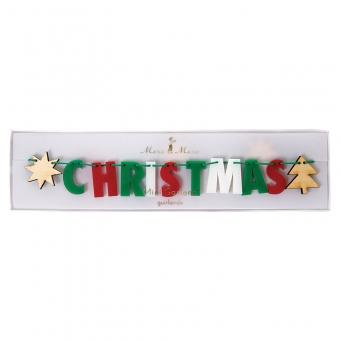 "Girlande ""Merry Christmas"" von Meri Meri"