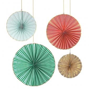 Windräder Weihnachten 4 Stück von Meri Meri