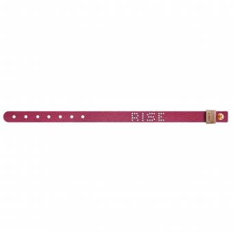 Leather Bracelet Bordeaux Rise