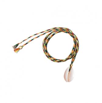 Muschel Kette/Armband Gelb von Sorbet Bracelets