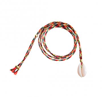 Muschel Kette/Armband Rot von Sorbet Bracelets