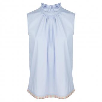 Bluse hellblau von La Camicia