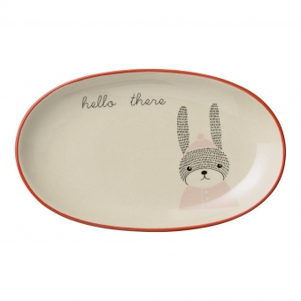 "Kinder Platte Hase ""Mollie"" Bloomingville Mini"