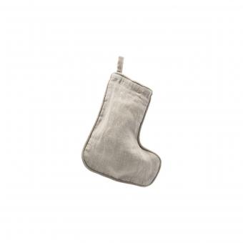 Weihnachtsstrumpf, Grau 20,5 cm von House Doctor