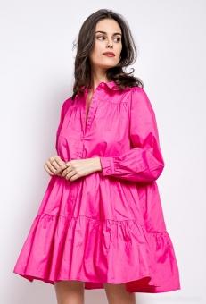 Hemdblusenkleid Daphne Pink