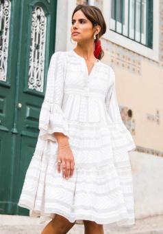 Ella Dress Off White von Devotion