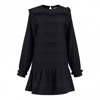Dufort Dress Blue/Black