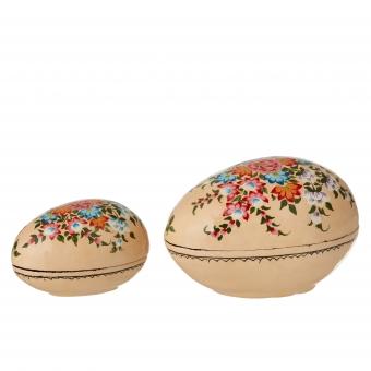 2er Set Dosen Osterei von Savannah Melon von Bungalow DK