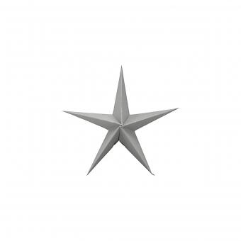 3-er Set Sterne Star in Grau 15 cm von House Doctor