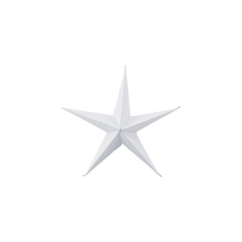 3-er Set Sterne Star in Weiss 15 cm con House Doctor