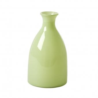 Große Glasvase Dusty Green von Rice