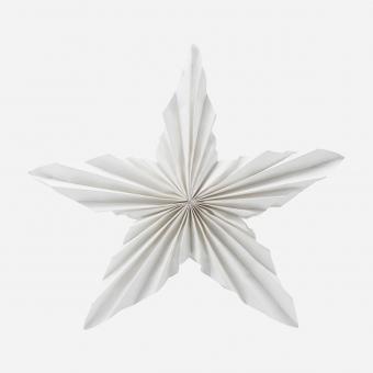 Stern aus Papier Weiß 35 cm von House Doctor