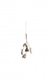 Ornament Misteltoe  antique metallic von House Doctor