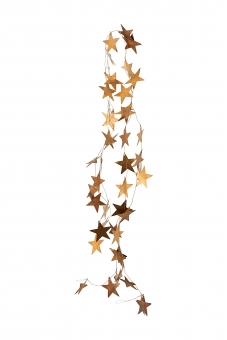 Guirlande Stars Antique brass von House Doctor