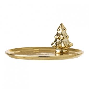Tablett Gold Baum von Bloomingville