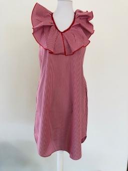 Kleid Vichy Rot von La Ritz