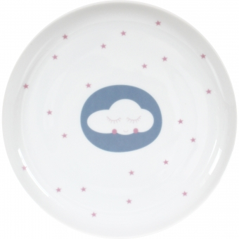 "Porzellanteller ""Wolke"" von Ava&Yves"