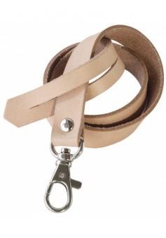 Schlüsselband Leder von Anne Hubert