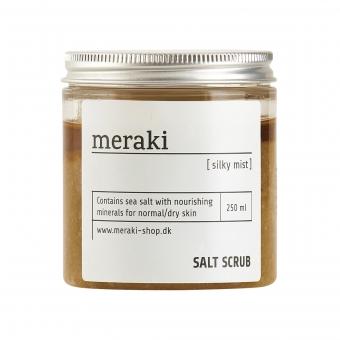 Salz Peeling Silky Mist 250 ml von Meraki