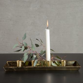 Tablett für 4 Kerzen von TineKHome
