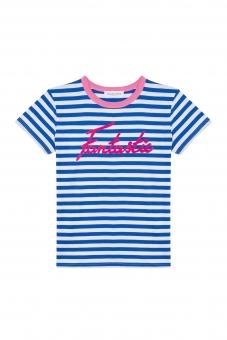 "T-Shirt  Stripped "" Fantastic"" von Maison Labiche"