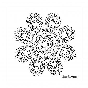 Papierservietten Lotusblume von Tinekhome