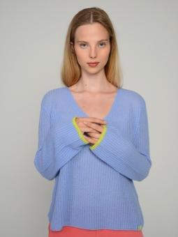 Pullover V-Ausschnitt 100% Kaschmir