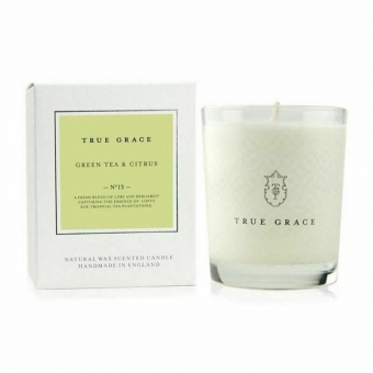 True Grace Kerze Green Tea & Citrus im Glas No 13