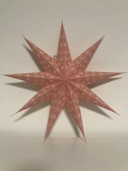 Stern Cassiopeia Rosa von Bungalow DK
