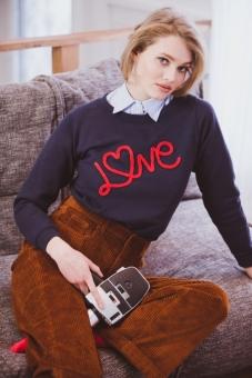 """Sweater """"Love"""" von French Disorder"""