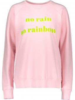 """Sweater """"No Rain no Rainbow"""" Rosa"""