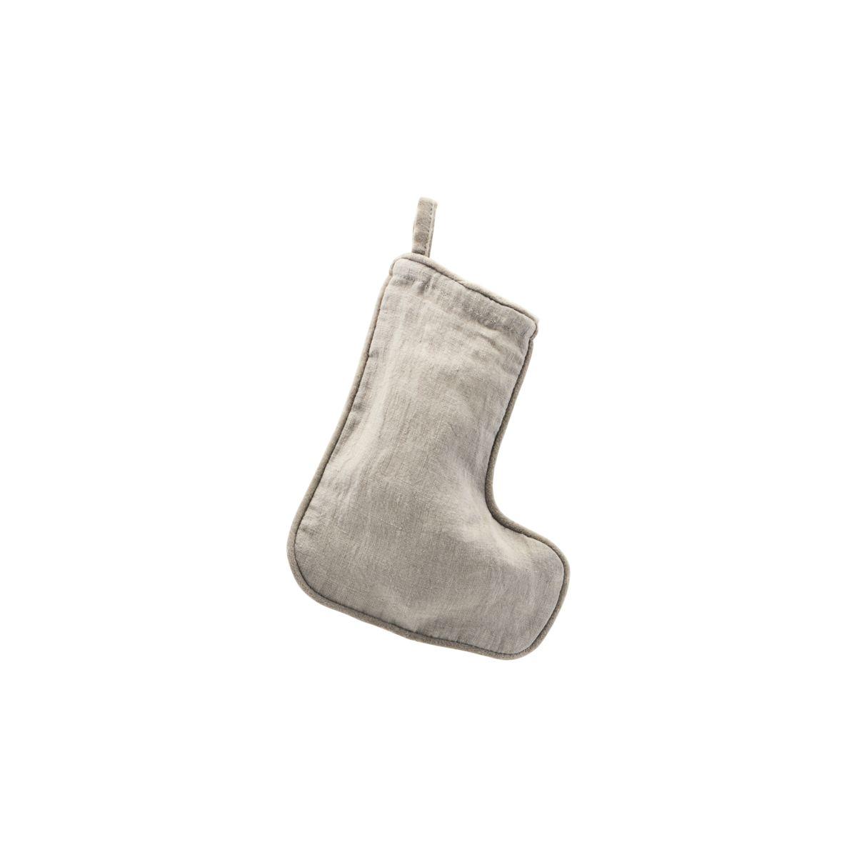 Weihnachtsstrumpf, Grau 20,5 cm von House Doctor   online kaufen